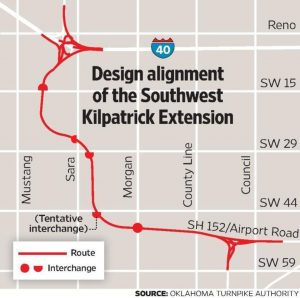 Work Begins On Kilpatrick Turnpike Extension In Sw Okc Oklahoma
