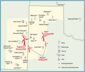 Wind Farms In Oklahoma Map.Xcel Energy Gets Approval For Massive Wind Farm In Eastern New